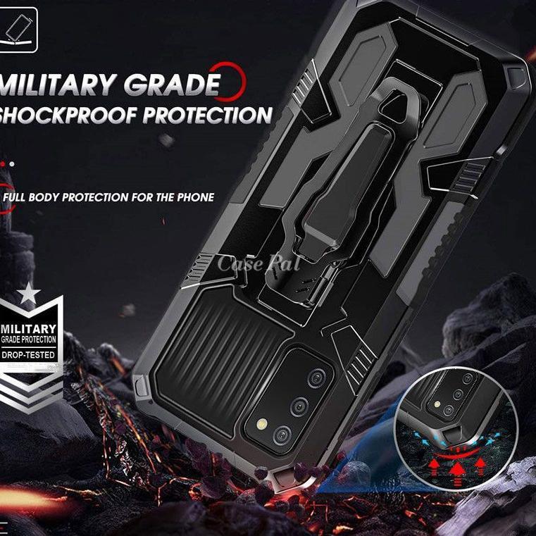 STAR Vivo Y20 i Y20S Y20i Y12S Y12 S Hard Case Belt Clip Robot Transformer Cover Hybrid Leather Soft