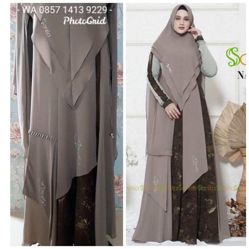 READY SIAP KIRIM 2 WRN LAGI Nayella syari batch 7 by Sanita Hijab