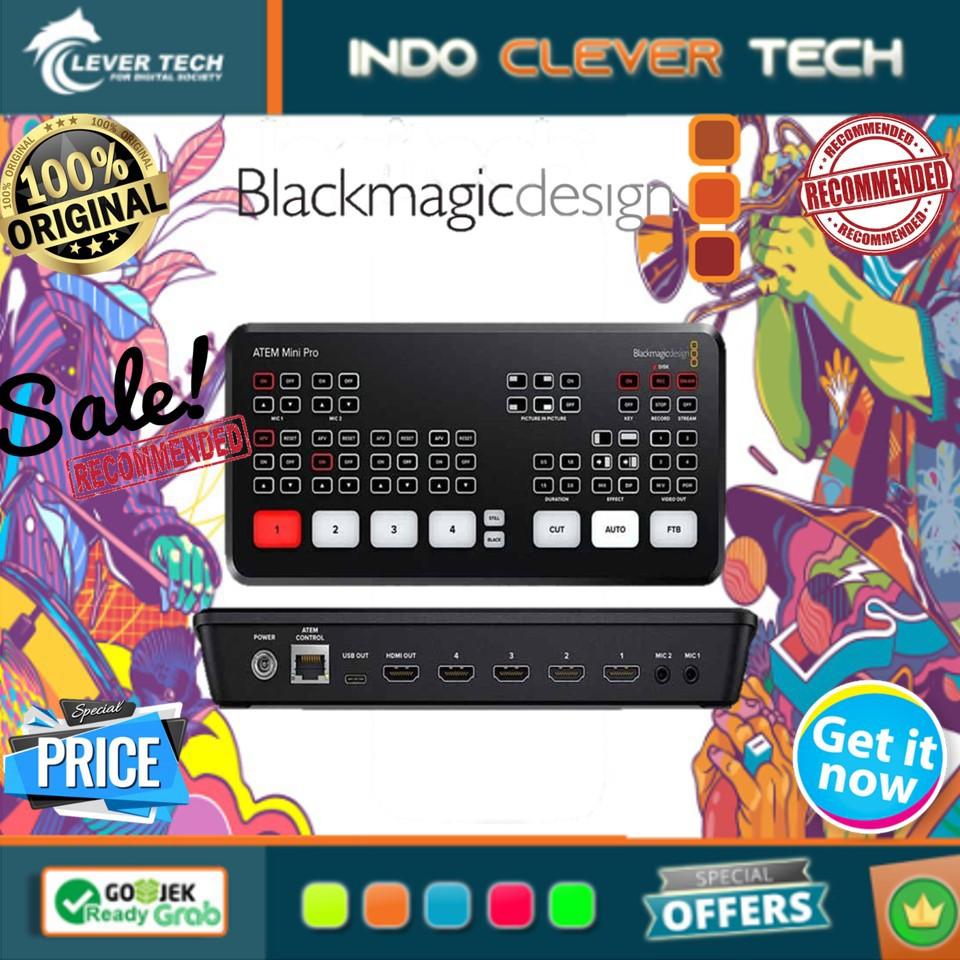 Blackmagic Design Atem Mini Hdmi Live Stream Switcher Shopee Indonesia