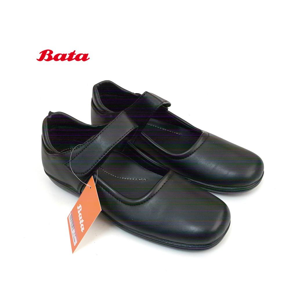 BATA 6064 Sepatu Pantofel Wanita Model Gesper Warna Hitam  2d07252704