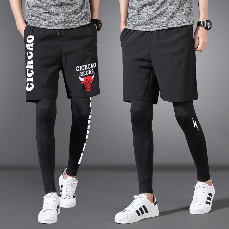 Xulianku Celana Ketat Olahraga Legging Pria Versi Korea Dari Pasang Berjalan Pria Dua Set Pelatih Shopee Indonesia