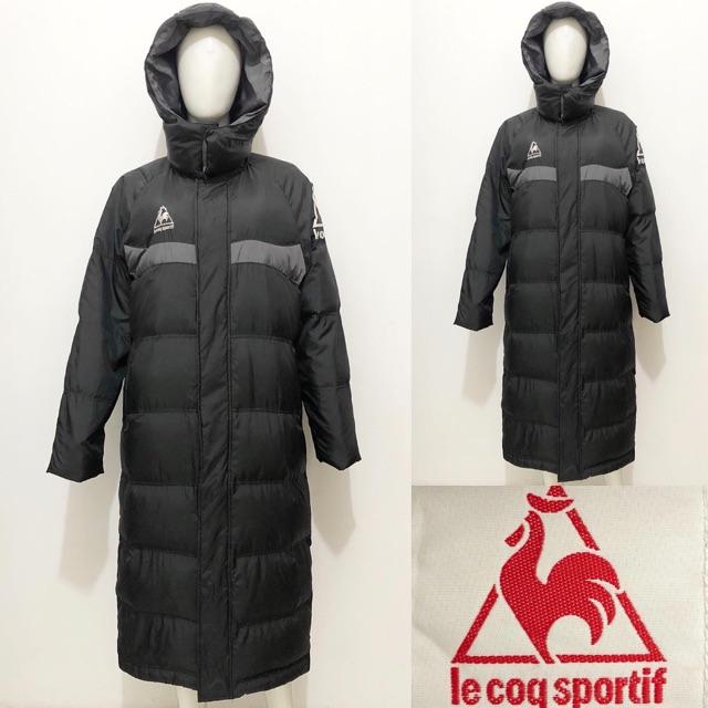 Le coq sportif black winter down coat / jacket jaket