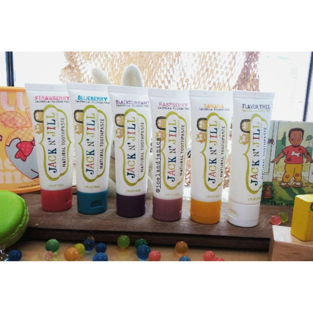 Jack N Jill Toothpaste Shopee Indonesia