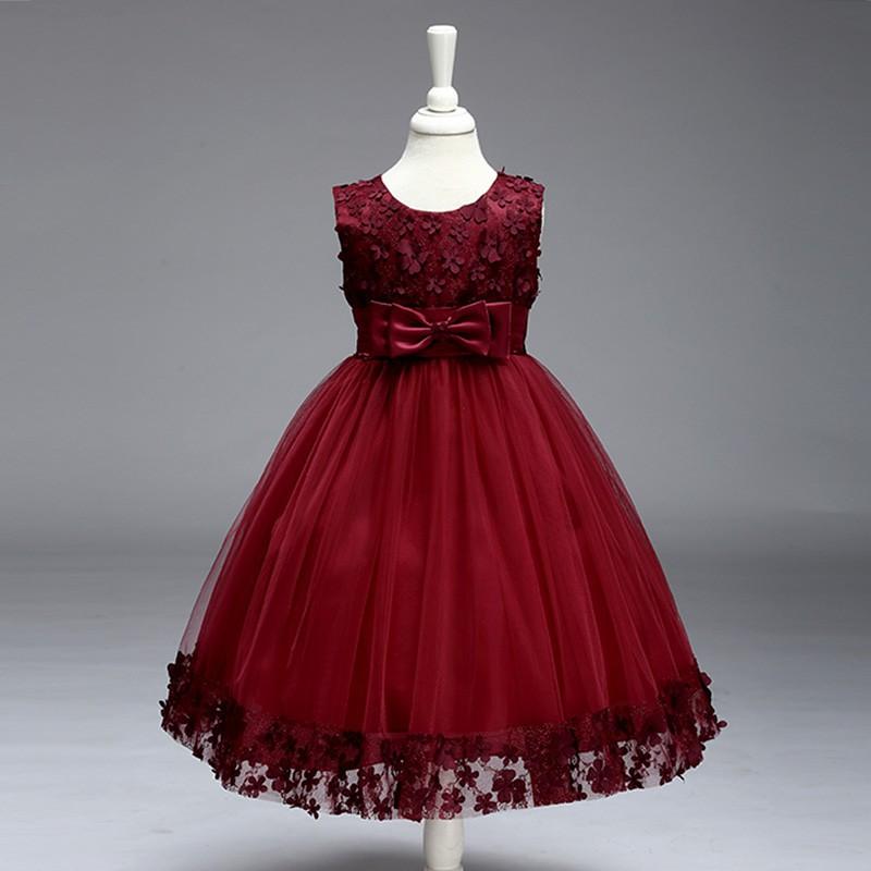 Princess Clothing Kids Ball Gown Fashion Dress Shopee Indonesia