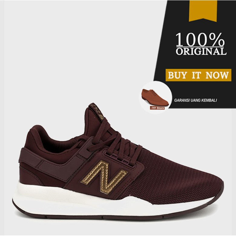 Sneakers Original Sepatu New Balance 247 V2 Lifestyle - Red