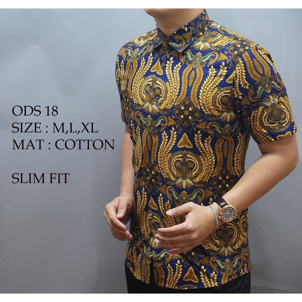 Blus Blouse Batik Atasan Wanita Trendy Modern Baju Koko Bermotif Gaul Ka0037 Shopee Indonesia