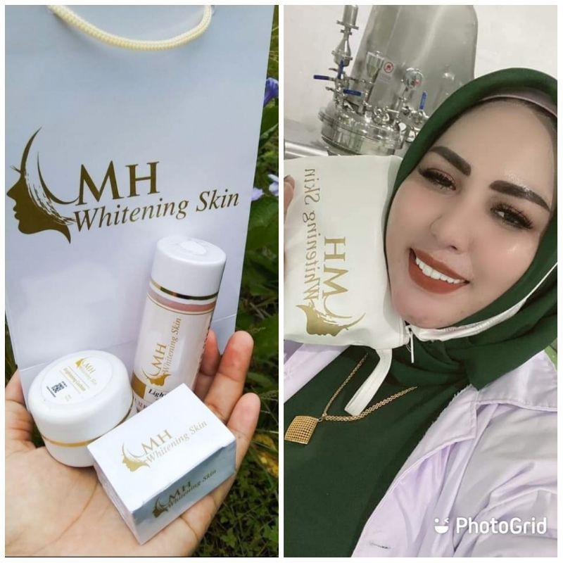 MH Whitening Skin Bpom / Cream Wajah Glowing / Cream menghilangkan jerawat dan flek Bpom