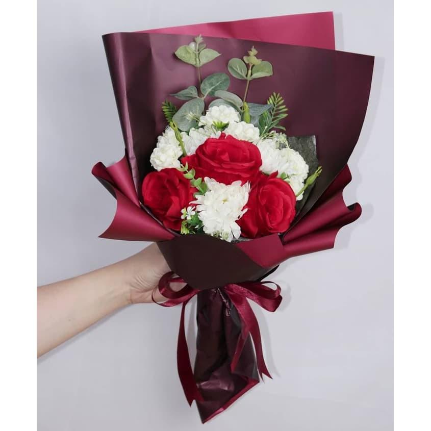Buket Valentine Buket Bunga Kado Valentine Buket Unik Shopee Indonesia