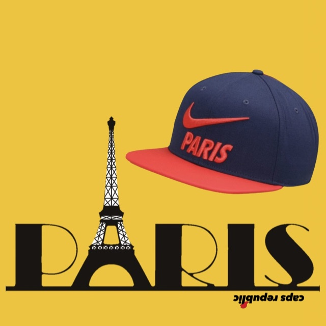 Nike Authentic Cap Paris Saint Germain Topi Nike Psg Shopee Indonesia