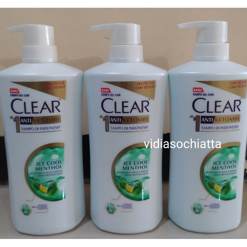 Shampo clear 660ml