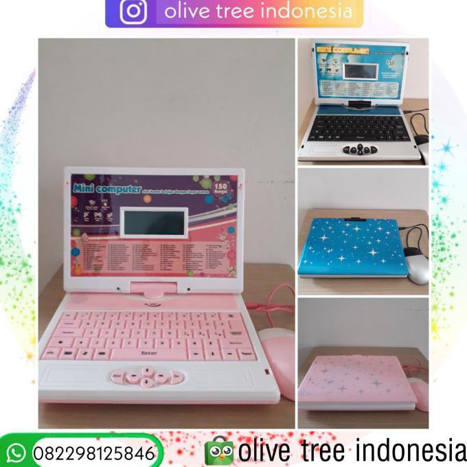 Mainan Edukasi Laptop Anak Terlengkap Pink Shopee Indonesia