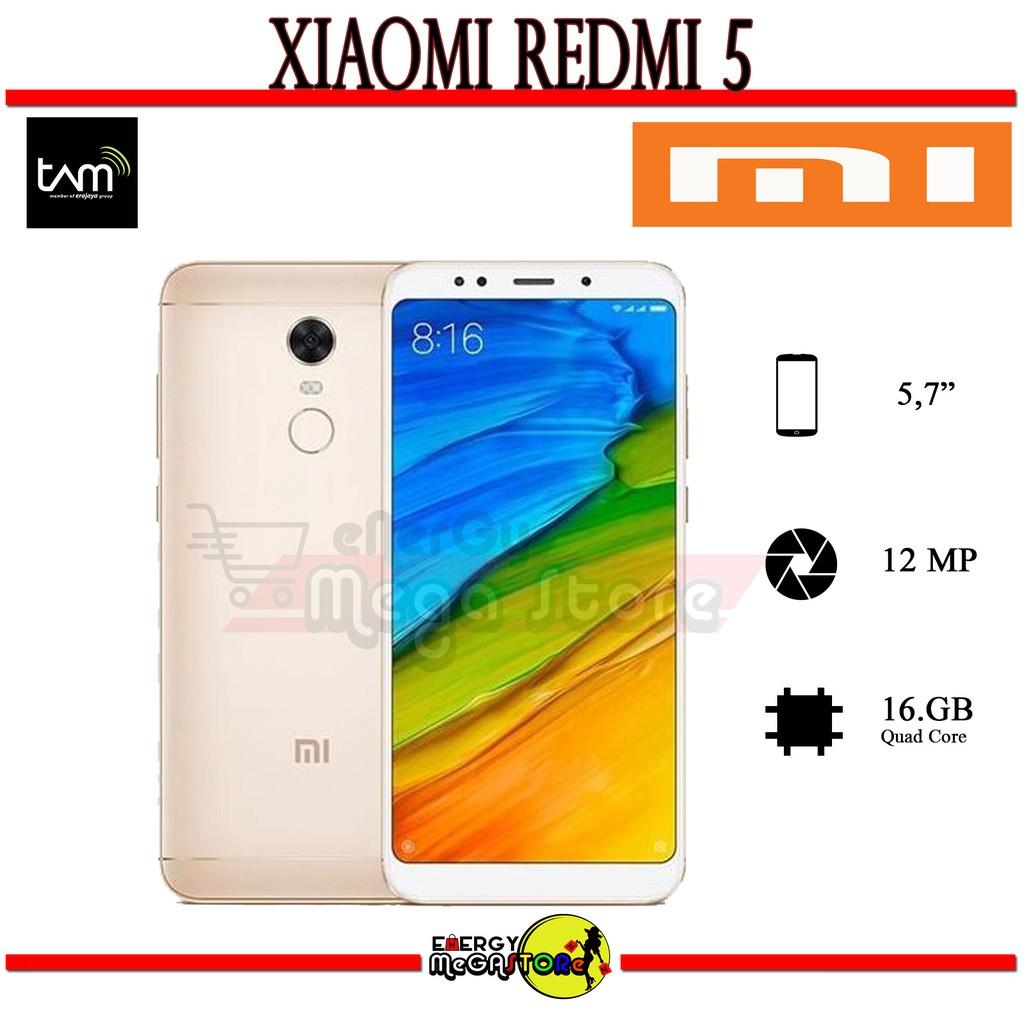 Xiaomi Redmi 5 Garansi Resmi Tam Shopee Indonesia Ram 3 Internal 32