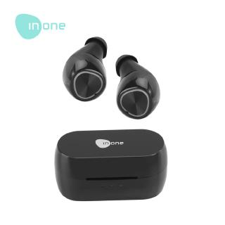 Inone Earphone Bluetooth TWS Wireless Air 1 Black New with One Step Pairing