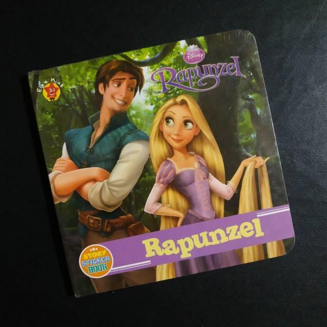 Disney Story Sticker Book Rapunzel Shopee Indonesia