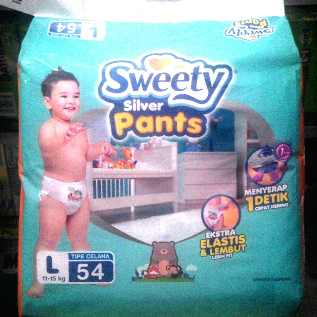 Promo Harga Sweety Bronze Pants Ukuran L34 Update 2018 M34 Plus 4 Diapers Mamamia Active Dry S20 Popok Pampers Tipe Celana S Shopee