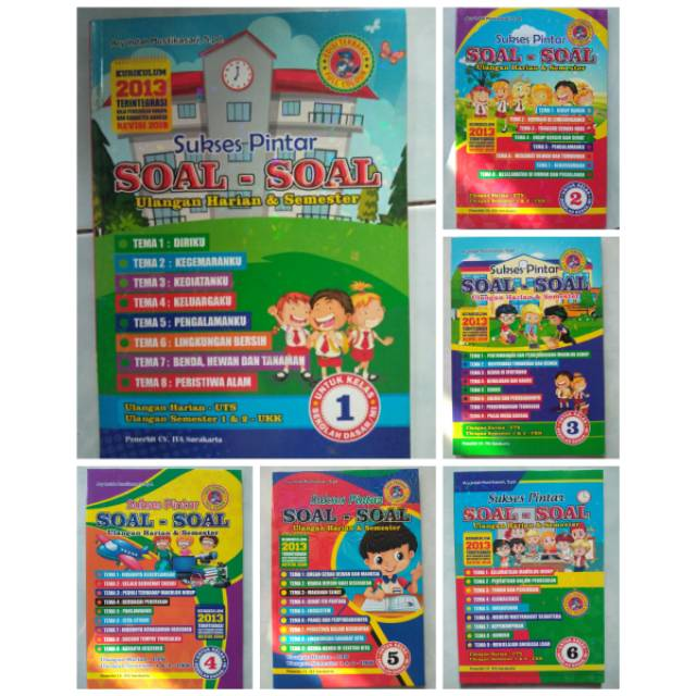 Download Soal Ukk Tema 7 Kelas 1 Sd