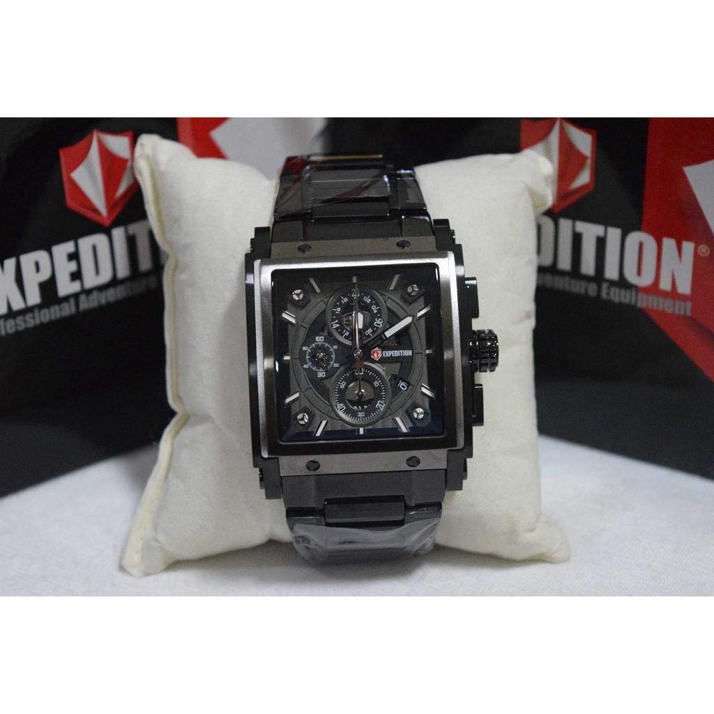 Alexandre Christie Ac Collection 9205 Full Black Shopee Indonesia Jam Tangan Pria Expedition E6737 Dual Time Hitam Rosegold