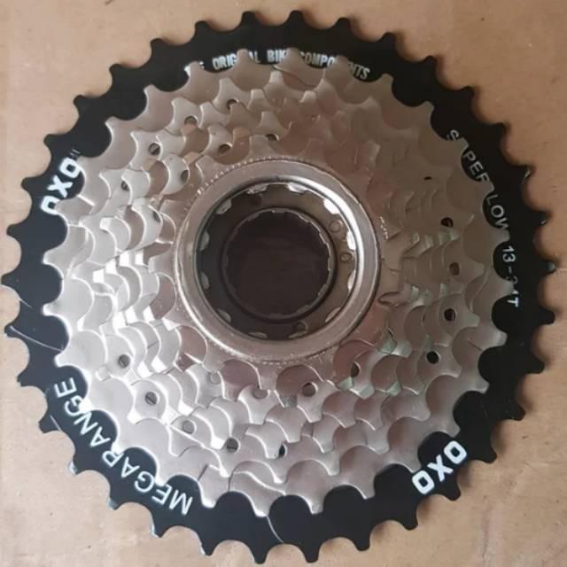 XLOT7   Gear Freewheel Oxo 8 speed 13-34T Drat Ulir