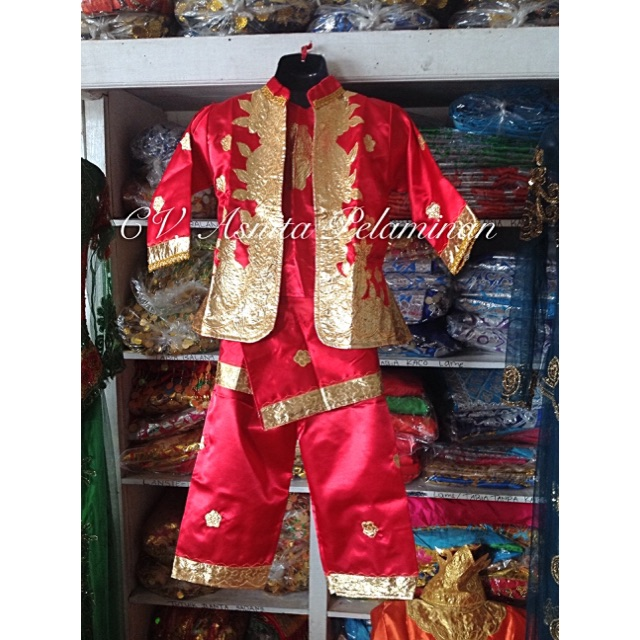 Baju Adat Minang Padang Penganten Anak Karnaval Shopee Indonesia