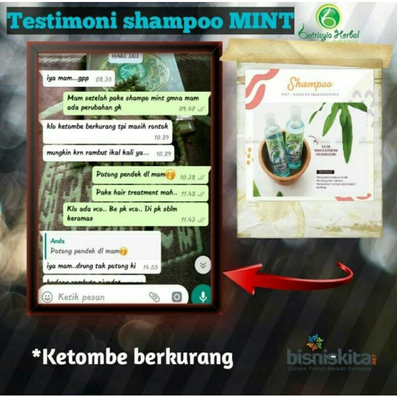 Batrisyia Shampoo Mint Atasi Ketombe dan Rontok-1
