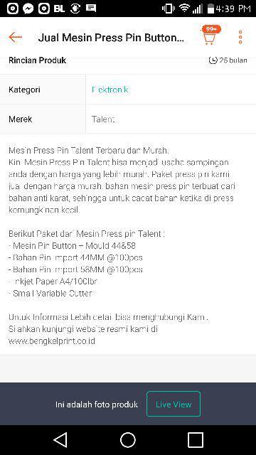 Jual Mesin Press Pin Button Talent Murah/ Harga Mesin Press Pin