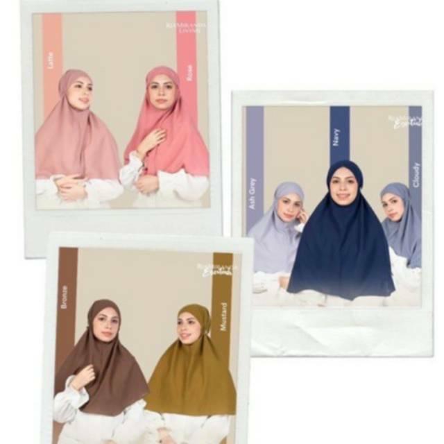 New Ria Miranda Hijab Immuna Plain Jilbab Immuna Instan Bergo Polos Imuna Homedress Recomended Shopee Indonesia