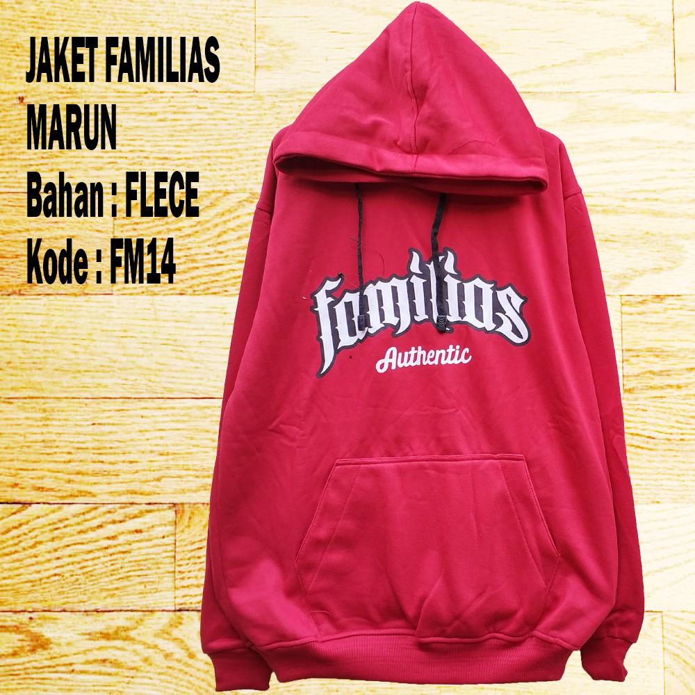 Jaket Hoodie Dnd Merah Marun Nd10 Shopee Indonesia