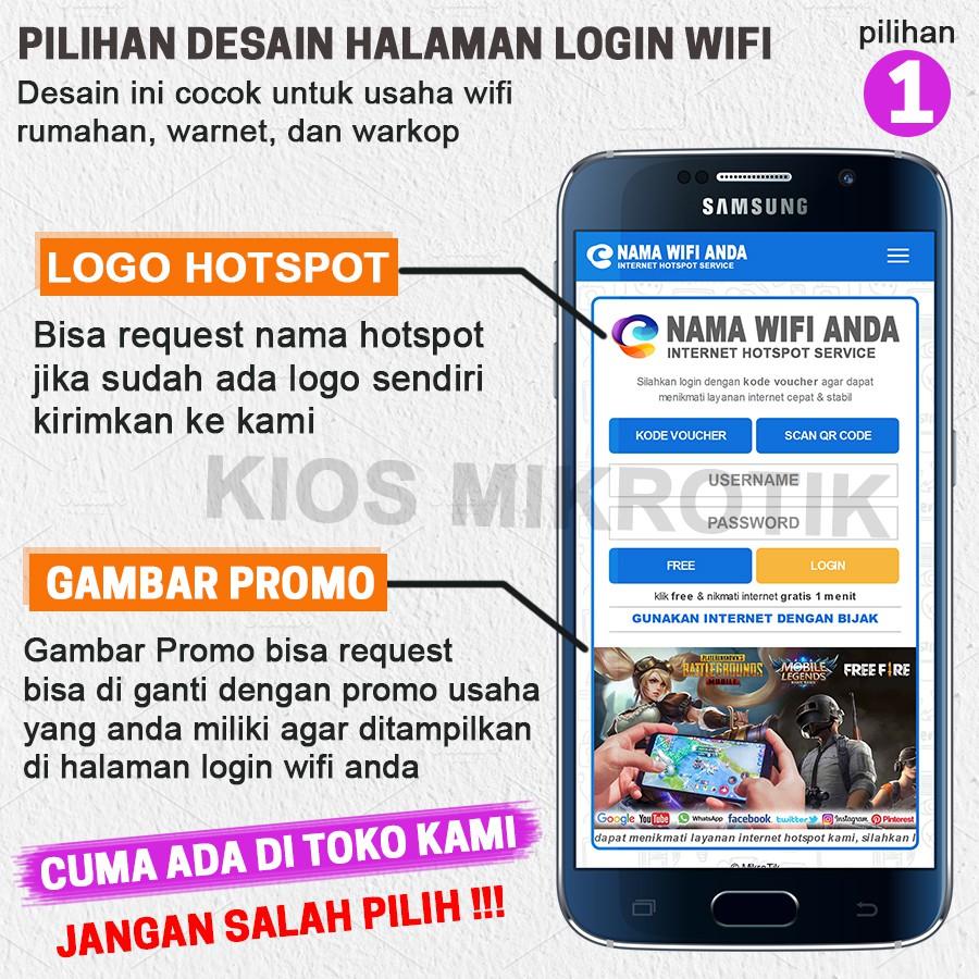 Alat Usaha Wifi Sistem Billing Voucher Full Setting Langsung Pakai Shopee Indonesia