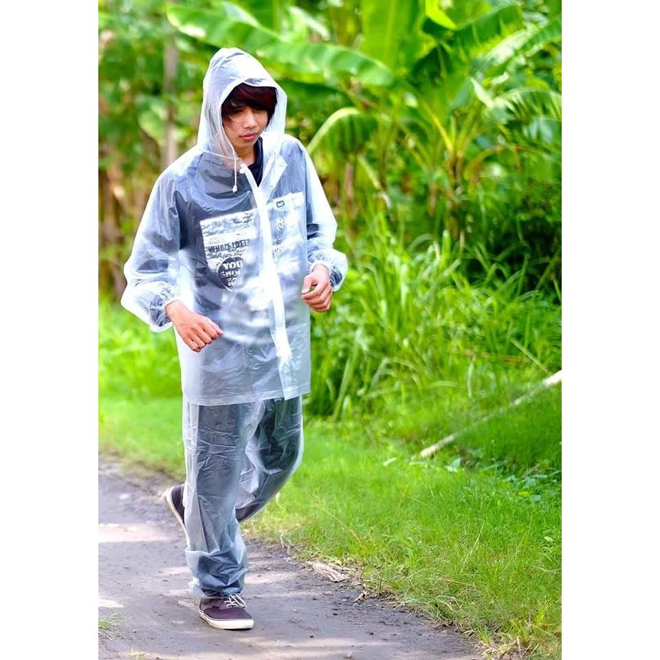 Jas Hujan Jaket Celana Transparan 700 Plevia Stelan Raincoat Murah Rain City 69132 Setelan Batik Sekar Motor Karet Limited Shopee Indonesia