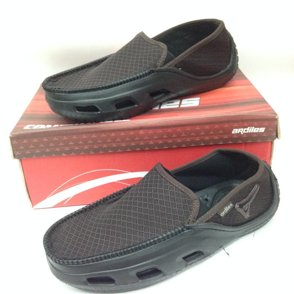 Ardiles Men Kaulun Sepatu Slip On Shopee Indonesia Money Vesto Coklat 43