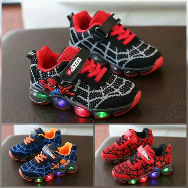 Sepatu Anak Lampu Led Sz 22 37 Sepatu Olahraga Anak Cowok Sepatu