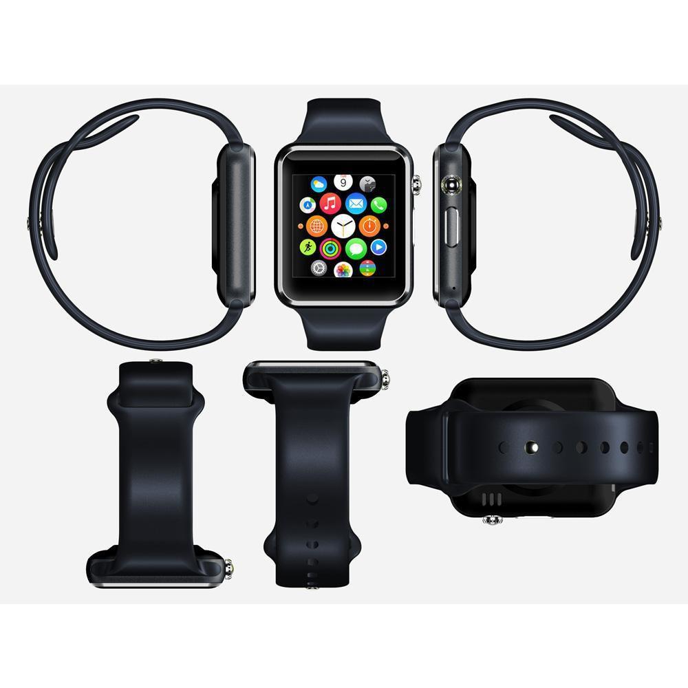 Jam Tangan Cewek Dan Cowo Gt08 U10 Smartwatch Bagus Termurah Onix A1 Full Black Shopee Indonesia