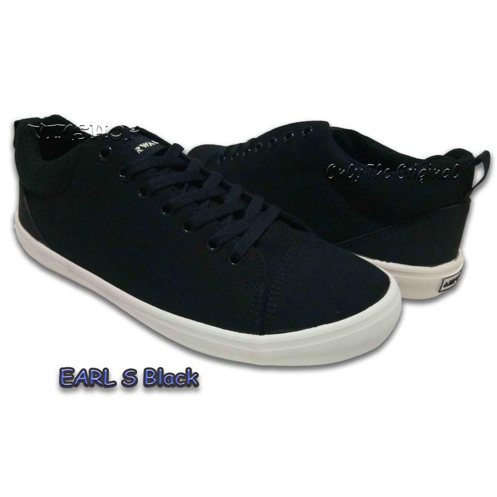 Sepatu Airwalk Danii Original   Sneakers   Casual   Balack   Hitam   Sekolah    Kuliah   murah  1accba8104