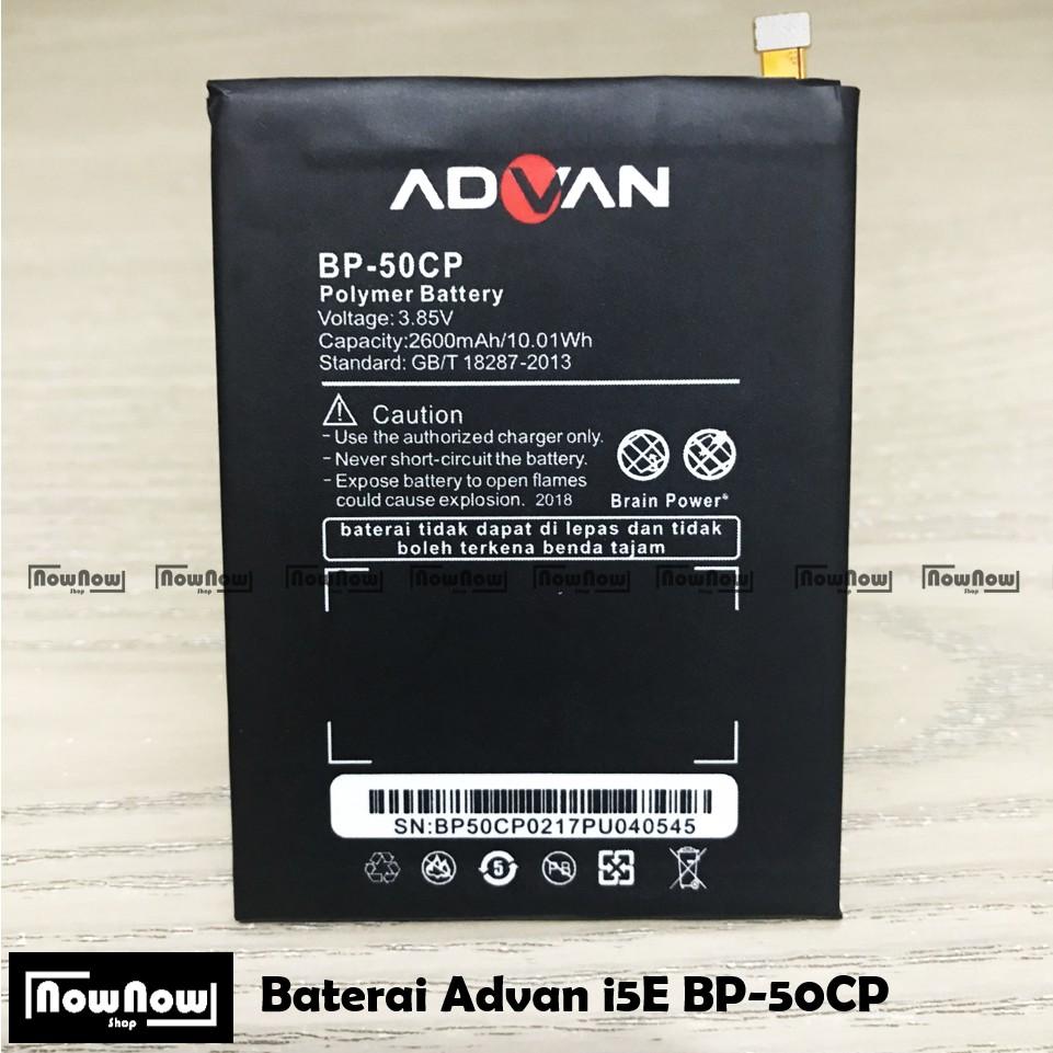 Baterai Handphone Advan i5E BP50CP Original Batre Batrai Advance Battery OEM HP BP 50CP i 5E BP-50CP | Shopee Indonesia
