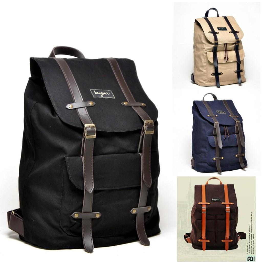 Tas Ransel Backpack KALIBRE Shellac Tas Ransel Laptop  902248cfd9
