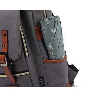 Tas Ransel Backpack Kanvas Canvas Outdoor Laptop Hiking Punggung Travel bag School.
