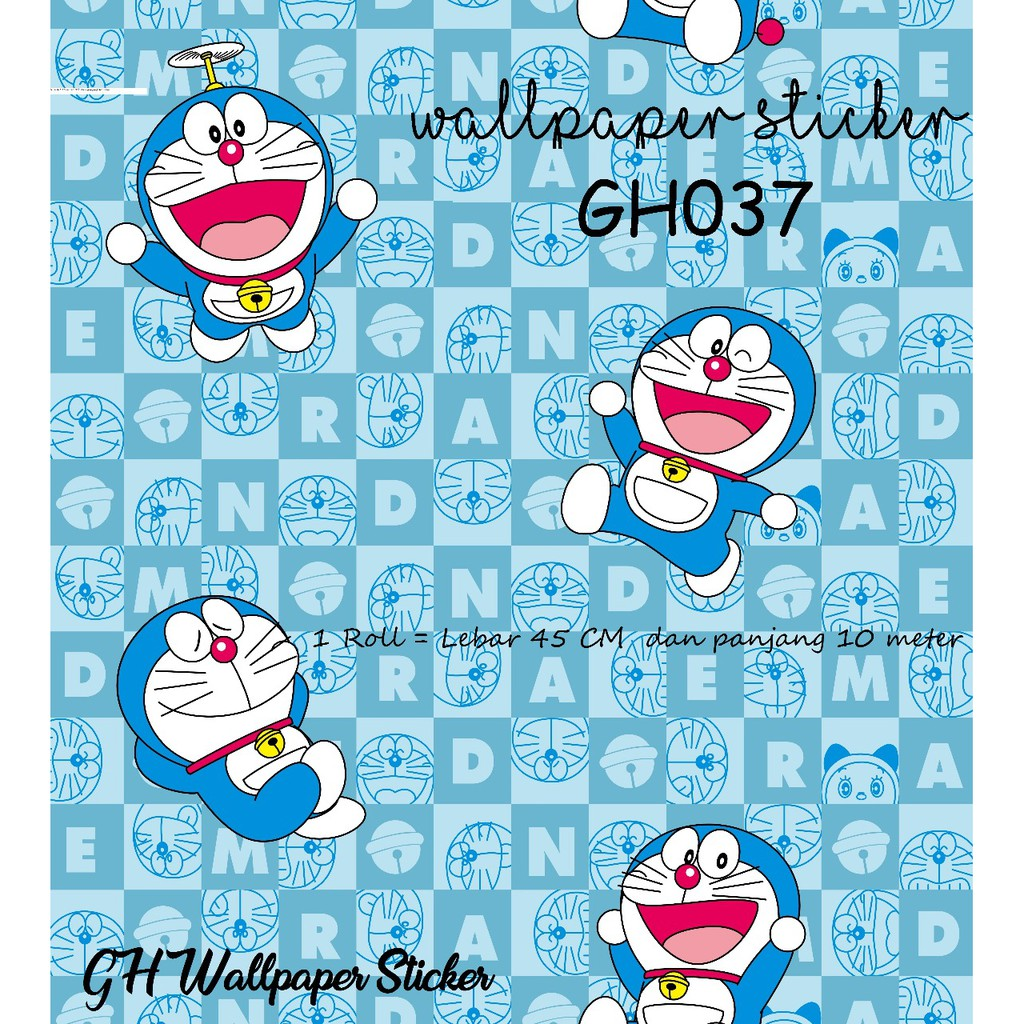 WALLPAPER 45CMX10M DORAEMON KOLIAN 32RB