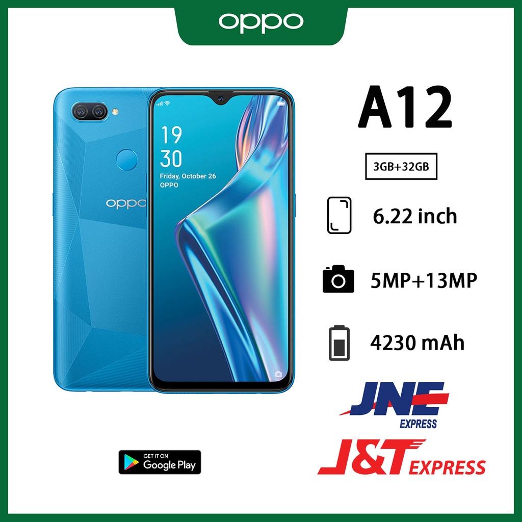 OPPO A12 hp ram 3/32GB 6.22inches screen 5MP+13MP