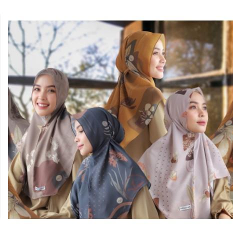 Hijabwanitacantik - Instan Baiti Curcuma | Hijab Instan | Jilbab Instan