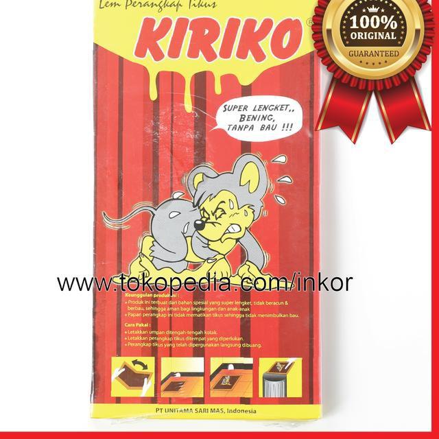 Tlh Kkwds Kiriko Lem Tikus Rat Trap Super Lengket Bening Tanpa Bau 1pcs V Shopee Indonesia