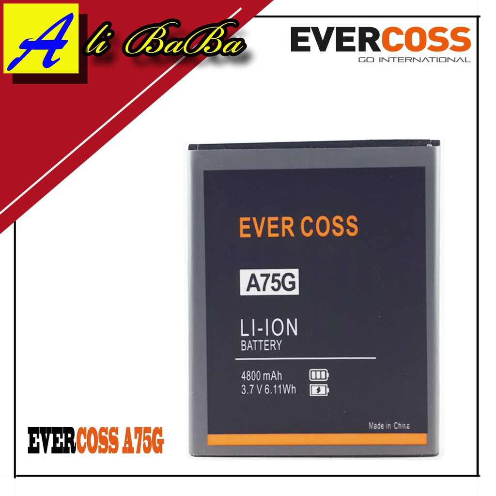 Baterai Handphone Evercoss A5a Doubel Power Original Battery Batre Hp Shopee Indonesia