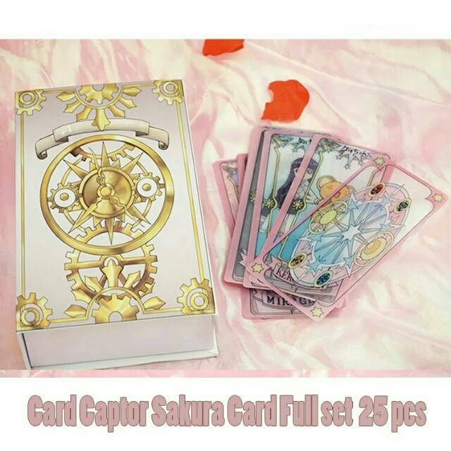 Toys Hobbies Anime Clear Card Sakura Card Girl Sakura Poker Playing Cards Cute Yu Gi Oh Individual Cards Coronapack Ba