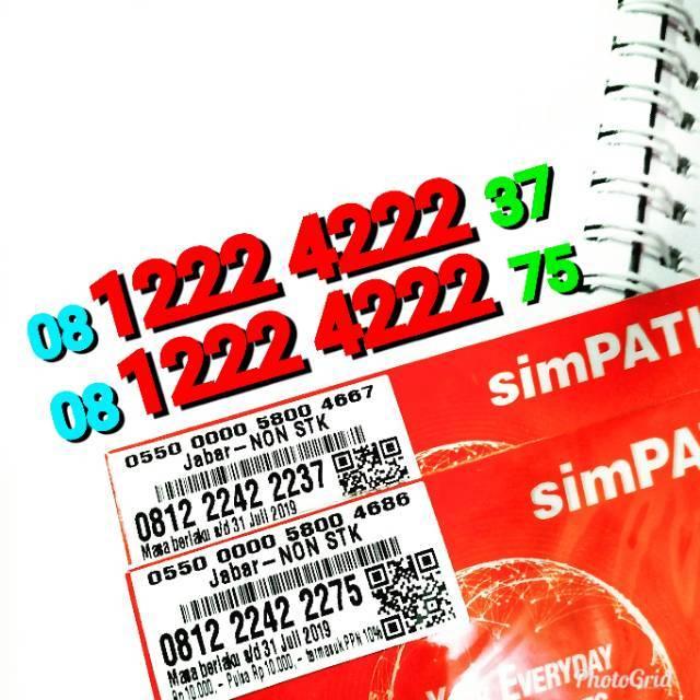 Nomor cantik sinpati super rapih 0812 2299 7757 7767 7787 | Shopee Indonesia