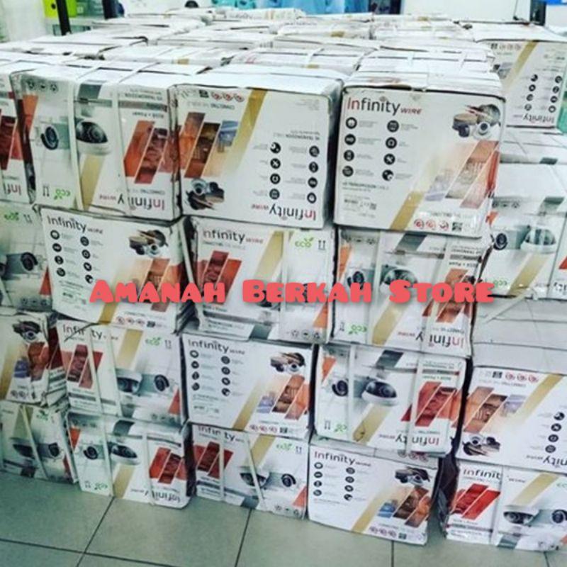 INFINITY Kabel CCTV RG6 + Power 1Roll