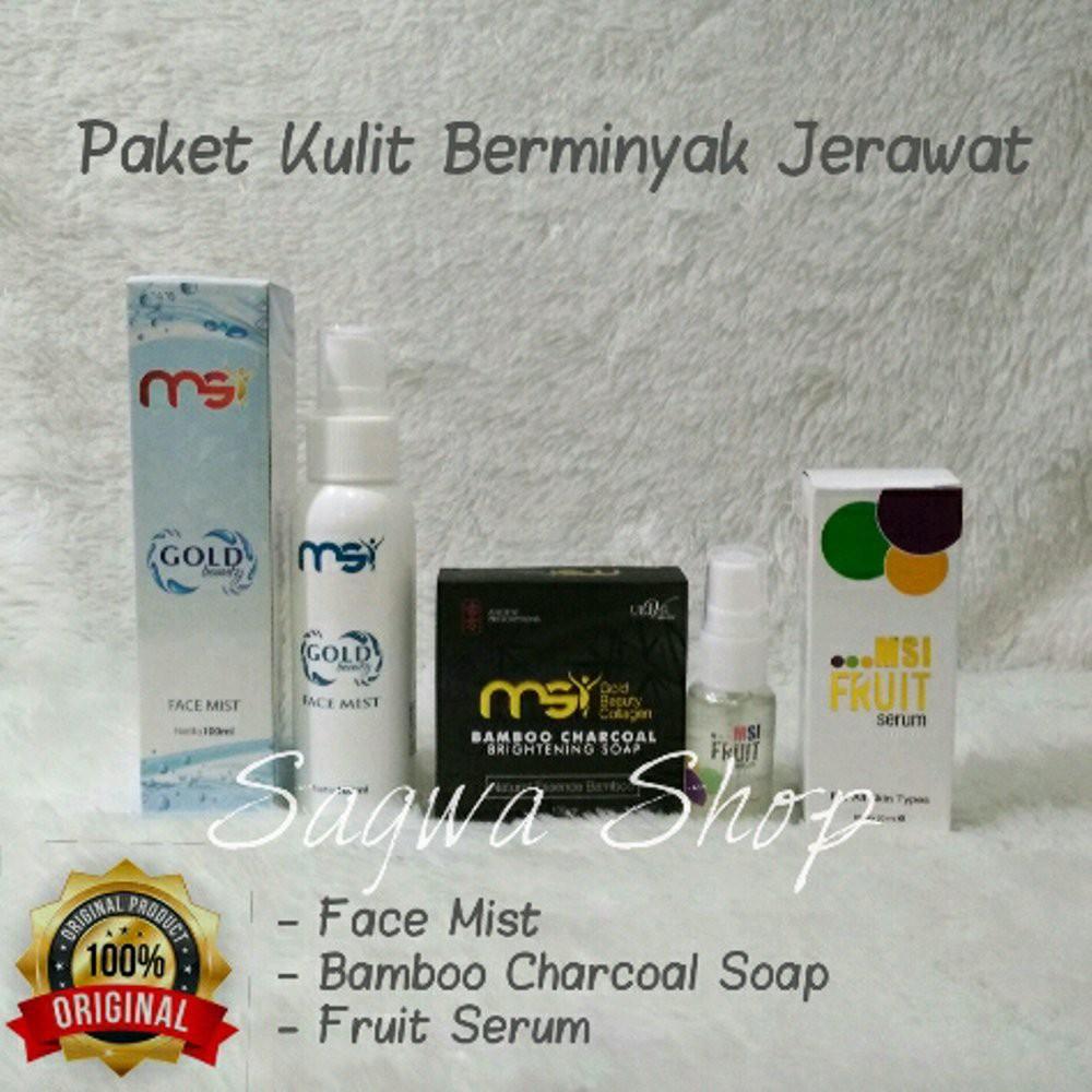 Msi Paket Glutacare Body Lotion Biospray Sabun Madu Phylia Shushiku Face Mist Collagen Facial Soap