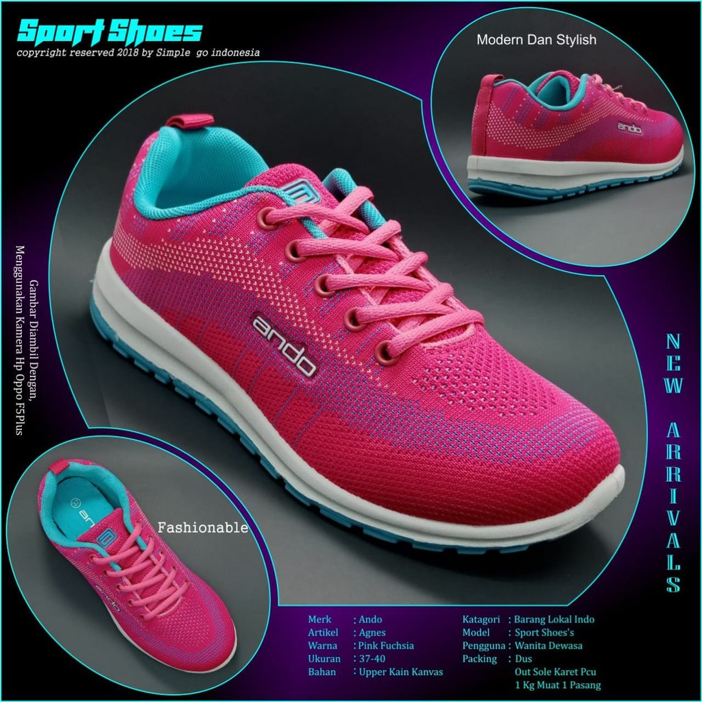 sepatu wanita sport - Temukan Harga dan Penawaran Online Terbaik - Sepatu  Wanita November 2018  49afcc67f5