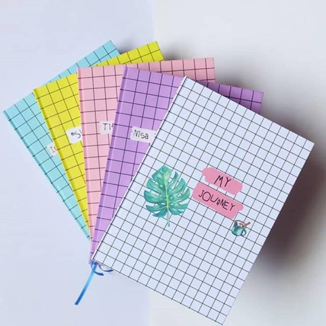 Notebook Custom A6 Kado Ultah Buku Custom Planner Jurnal Buku Lucu Notes Kado Shopee Indonesia