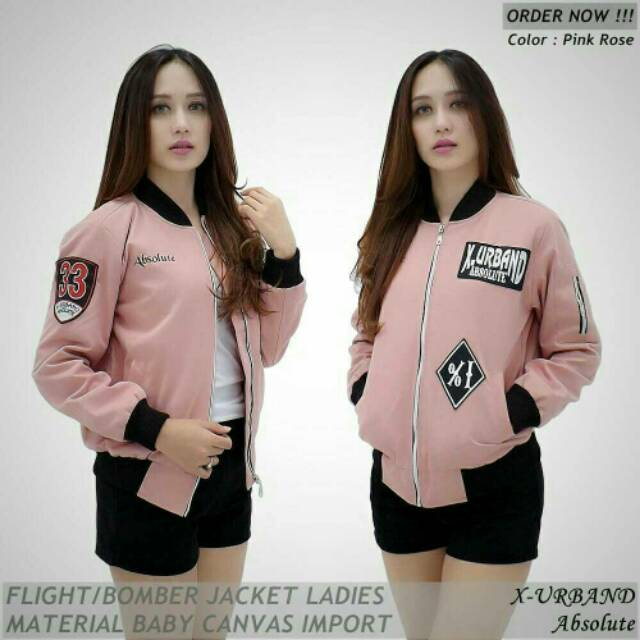 Jaket bomber KICKSOOGAR ladies   bomber jacket cewek wanita branded PREMIUM  qualitty   best seller  a699d4427e