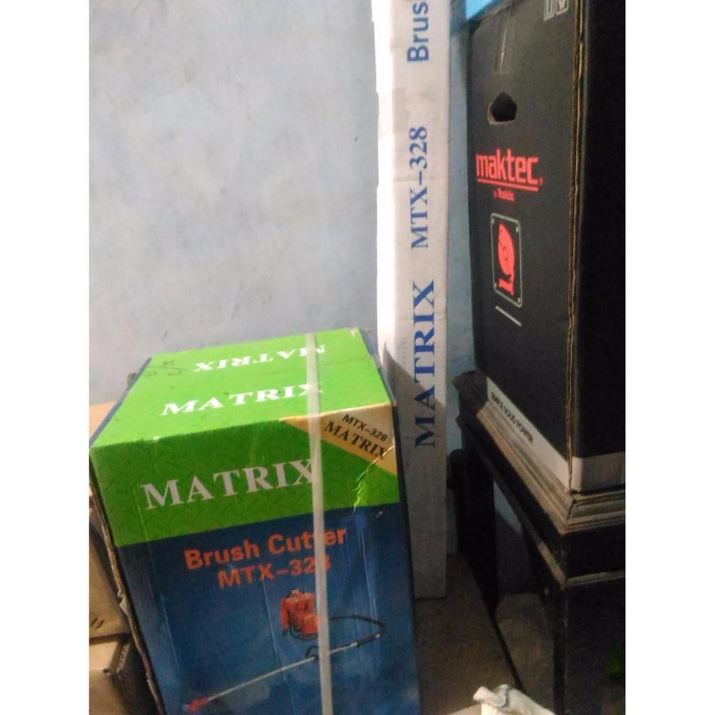 Termurah Mesin Pemotong Rumput Matrix Mtx 431 Gendong Bensin Murni 4 Potong Tak Brush Cutter Shopee Indonesia
