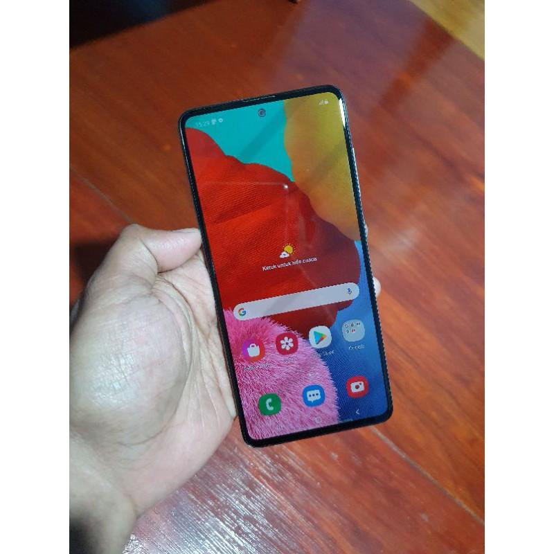 Handphone Hp Samsung Galaxy A51 6/128 Second Seken Bekas Murah
